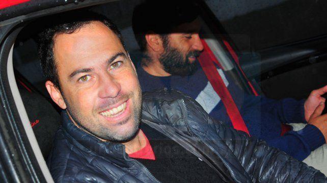 El flamante entrenador recorrió la semana pasada el predio de La Capillita. Foto UNO