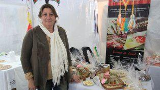 Empeño. Patricia Clemente empezó con un puesto de torta fritas y hoy tiene servicio de catering.