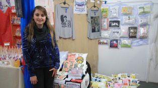 Proyecto. Gisela Monzón tiene solo 29 años y está dispuesta a crecer como emprendedora.