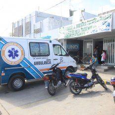 El joven fue estabilizado en el centro de salud del barrio. Foto UNO Juan Ignacio Pereira.