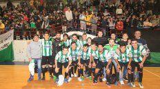 Ministerio campeón en la B del Futsal. Foto UNO Juan Ignacio Pereira.