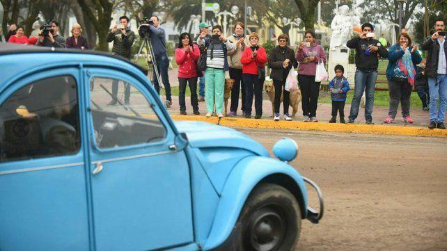 Citroneros coparon las calles de ciudades y pueblos entrerrianos