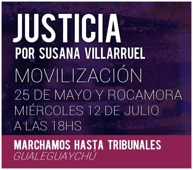 Gualeguaychú: Sorprendidos con la poca concurrencia a la marcha por Susana Villarruel
