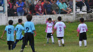 Comienza el torneo Gurisitos con una fuerte campaña contra la violencia en el fútbol
