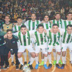 El plantel campeón del Torneo Apertura de la divisional A de futsal. Foto UNO Juan Ignacio Pereira