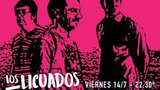 Los Licuados tocarán el viernes en La Cueva del Club Español