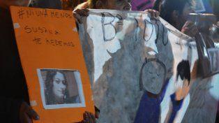 El audio que explica como se vivió la marcha por Susana en Gualeguaychú