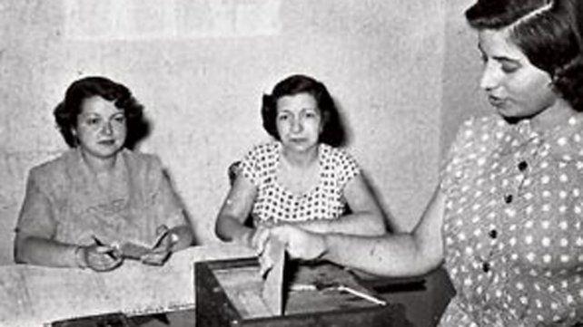 A 70 años de aprobado el voto femenino en Argentina