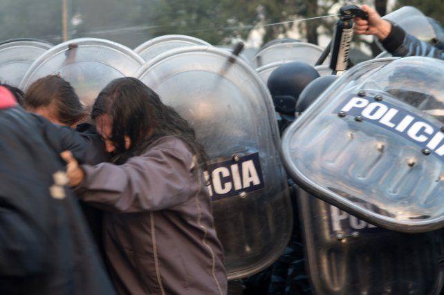 Trabajadores de Pepsico se movilizan por la reincorporación y en repudio de la represión
