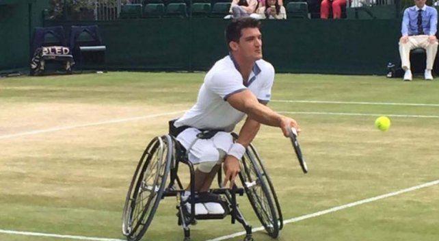 Gustavo Fernández estrenó el Nº1 con una gran victoria en Wimbledon