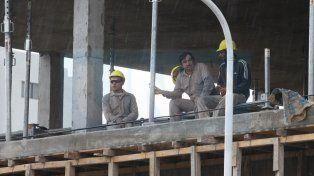 La construcción une a los empresarios y funcionarios