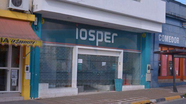 Conflicto. El Iosper pide apertura para negociar el convenio.