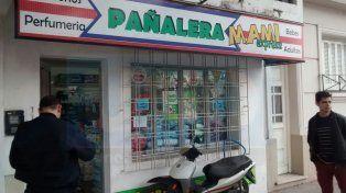 Desconocidos robaron una pañalera de Paraná y se dieron a la fuga