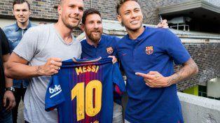 Messi y Neymar adelantaron su regreso a las prácticas del Barcelona