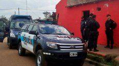 Saldo. El operativo policial concluyó con seis detenidos.