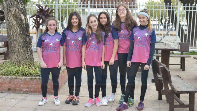 En Mujeress. Las chicas de Rowing que estarán participando de la competencia Nacional en San Guillermo
