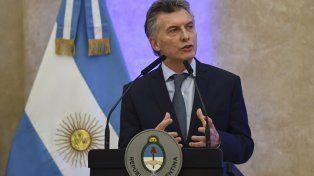 Macri pidió apoyo para la reforma tributaria: El régimen actual es una mochila que nos está hundiendo