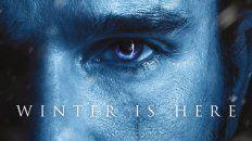 el invierno esta aqui y los fanaticos de got enloquecen