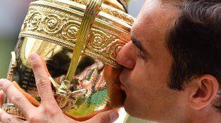 Federer se consagró en Wimbledon por octava vez