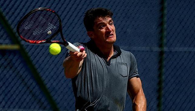 Gustavo Fernández no pudo gritar campeón en Wimbledon