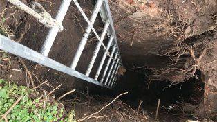 Hallaron un túnel con más de 100 años de antigüedad en Santa Fe