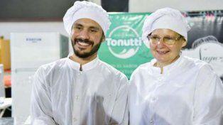 Con pasión. Olivera y Sidoruk viven en Paraná y elegir su preparación les llevó una semana de trabajo.