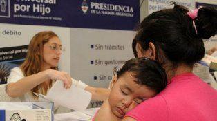 Lanzarán créditos para beneficiarios de la Asignación Universal por Hijo