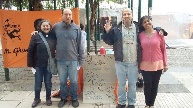 Donaciones. Se reciben los sábados de 10 a 12 en la Plaza 1° de Mayo