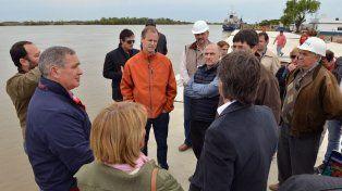 Plan. Analizaron acciones para potenciar la estación fluvial.