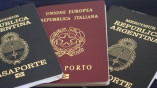 Consulado de Italia espera aluvión de argentinos para tramitar ciudadanía