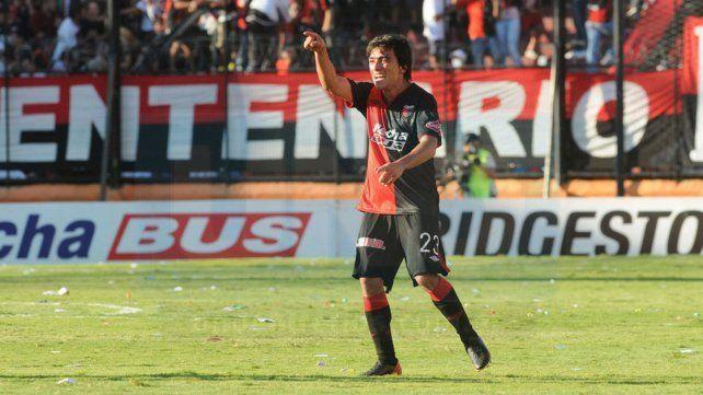 CuandoBruno Urribarri jugó en Colón de Santa Fe.
