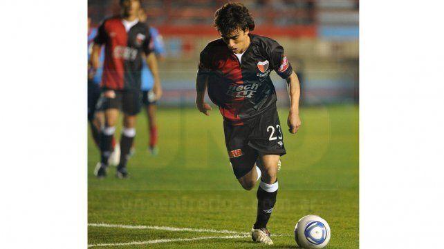 Cuando Bruno Urribarri jugó en Colón de Santa Fe.