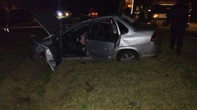 Continúan internadas las heridas del accidente en la autovía Artigas en el que falleció una mujer