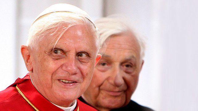Benedicto XVI y Georg Ratzinger