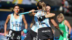 Argentina festejó ante Irlanda y se clasificó al Mundial.