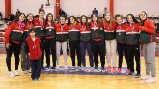 Entre Ríos terminó tercero en el U17 femenino