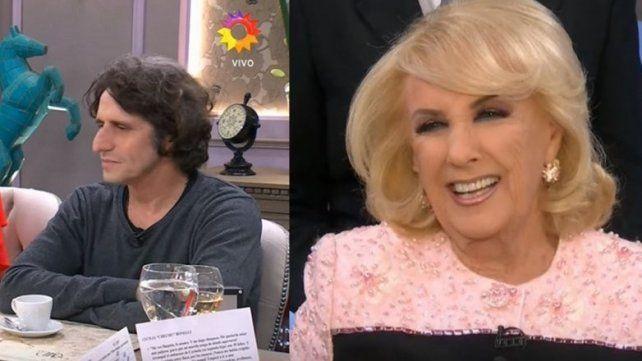 El escándalo que no se vio: Diego Peretti se fue de la mesa de Mirtha Legrand
