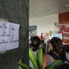 Agmer pedirá explicaciones en el CGE de Paraná. Foto UNO Diego Arias.