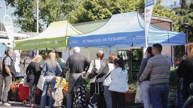 El programa El mercado en tu barrio estará este jueves en San Agustín