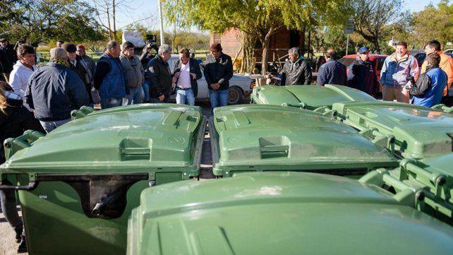 Limpieza. Unas 2.000 unidades serán distribuidas y esperan cubrir el 100% de Paraná.