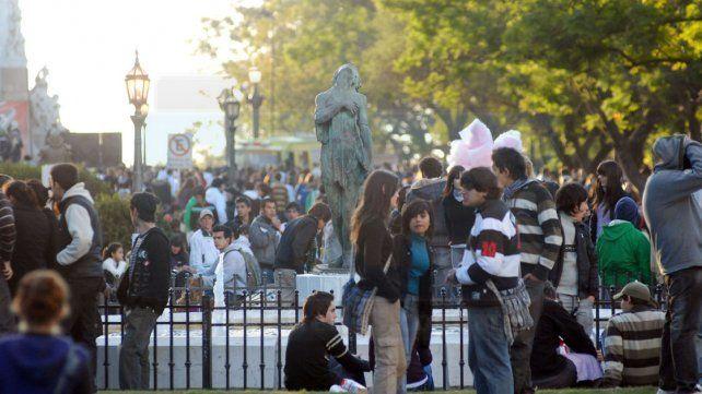 Festejos. La mayoría se concentrará en el Parque Urquiza.