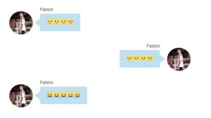 Filtraron los chats hot de Jonathan  Fabbro con su ahijada menor de edad