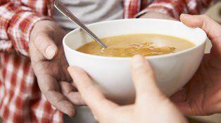 Sopa caliente para el invierno.