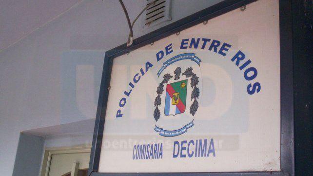 Nueve impactos de bala recibió el frente de la Comisaría Décima