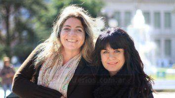 Marisa y Claudia.