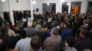 Encuentro. Del acto participaron dirigentes capitalinos y el exgobernador Sergio Urribarri.