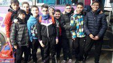 Los integrantes del equipo sanjuanino que vivieron una mala experiencia en Paraná.