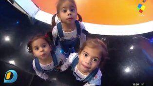 Terremotos: las hijas de Cinthia Fernández volvieron a la TV y dieron vuelta todo