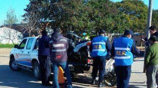Cinco personas quedaron detenidas por cobrarle peaje a los vecinos