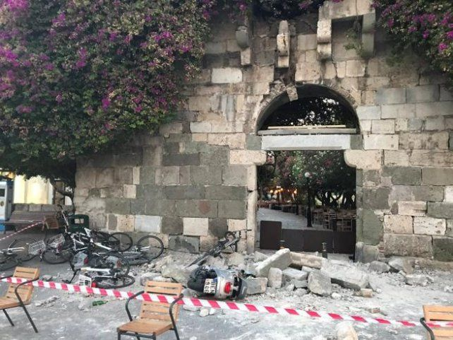 Dos muertos en isla griega de Kos tras un terremoto de magnitud 6,7